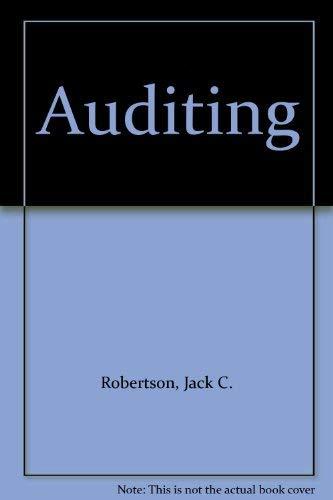 9780256058321: Auditing