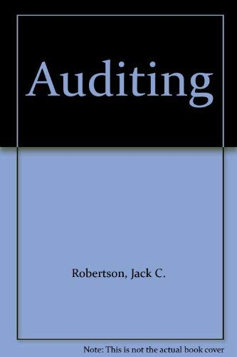 9780256058321: Auditing
