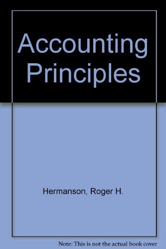 9780256059342: Accounting principles