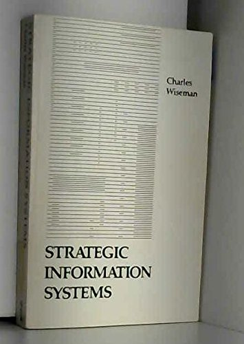 9780256060300: Strategic Information Systems