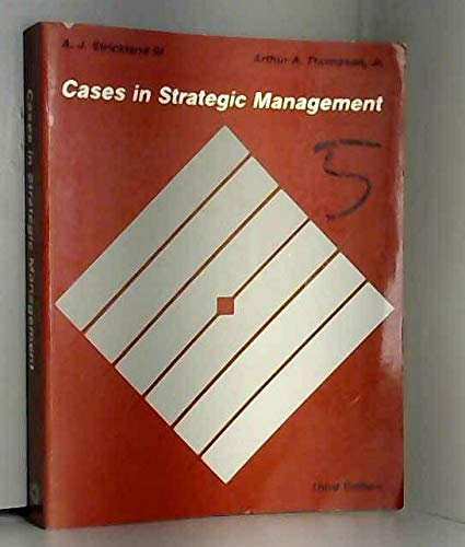 9780256060799: Cases in Strategic Management