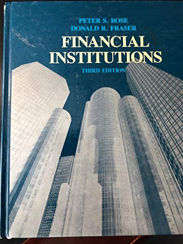 9780256061536: Financial institutions: Understanding and managing financial services
