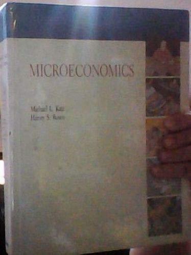 9780256064575: Microeconomics