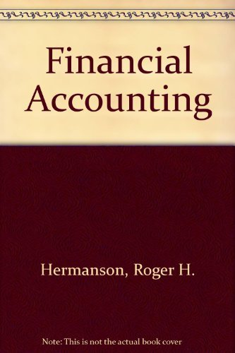 Financial Accounting: etc., Roger H.