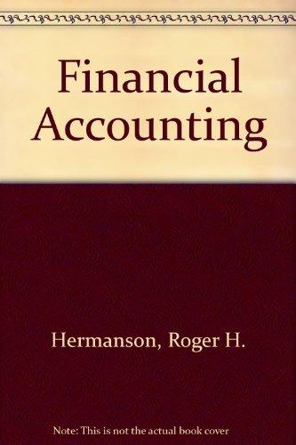9780256067620: Financial Accounting