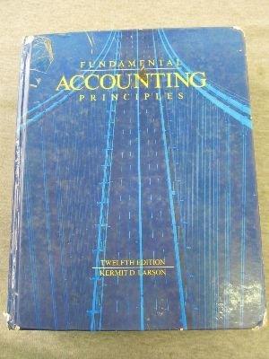 9780256073423: Fundamental Accounting Principles