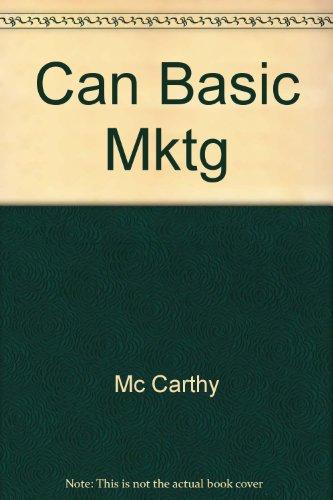 9780256073867: Can Basic Mktg