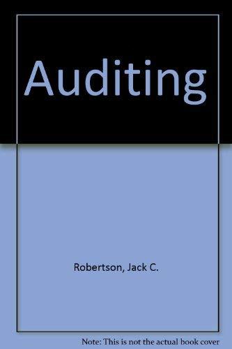 9780256077247: Auditing