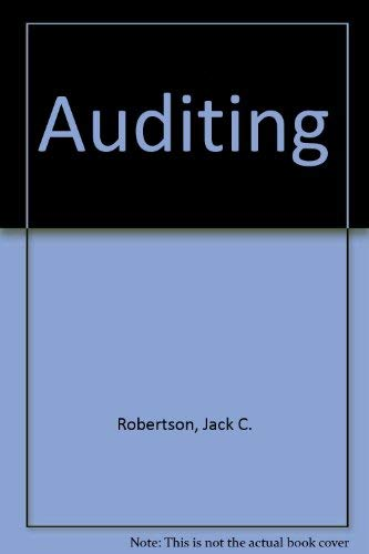 9780256077247: Auditing