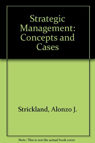 9780256078374: Strategic management: Concepts and cases