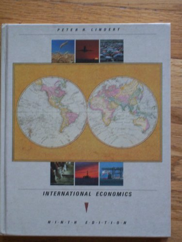 9780256079005: International Economics