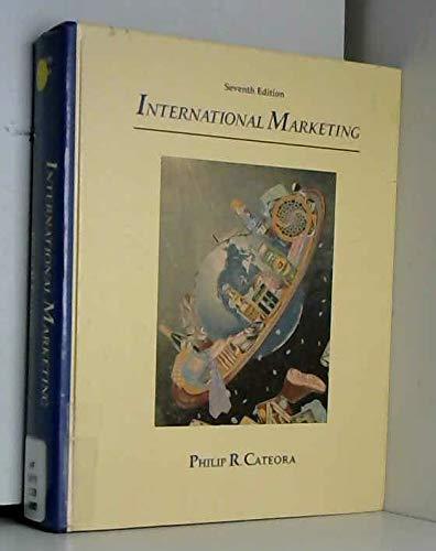 9780256079531: International Marketing