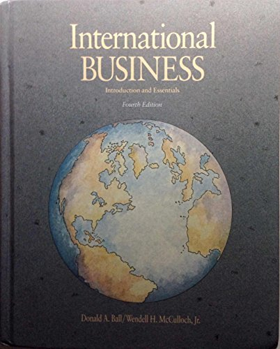 9780256080100: International Business: Introduction and Essentials