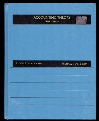 9780256081466: Accounting Theory