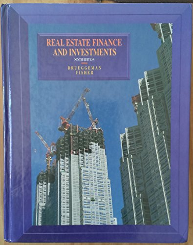 Real Estate Finance and Investments (The Irwin: Fisher, Jeffrey D.,