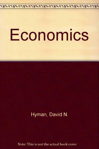 9780256083811: Economics