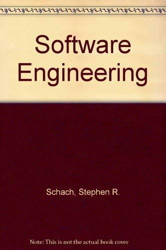 9780256085150: Software Engineering (The Aksen Associates series in electrical and computer engineering)
