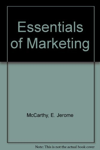 9780256085242: Essentials of Marketing