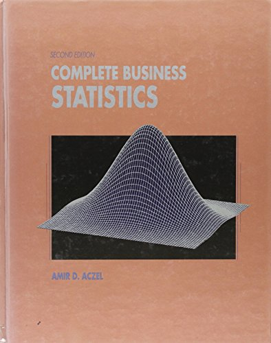 9780256086133: Complete Business Statistics