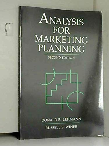 9780256086812: Analysis for Marketing Planning