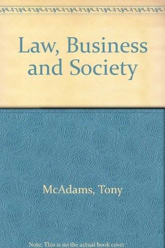 9780256087444: Law, Business and Society