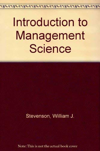 9780256088090: Introduction to Management Science
