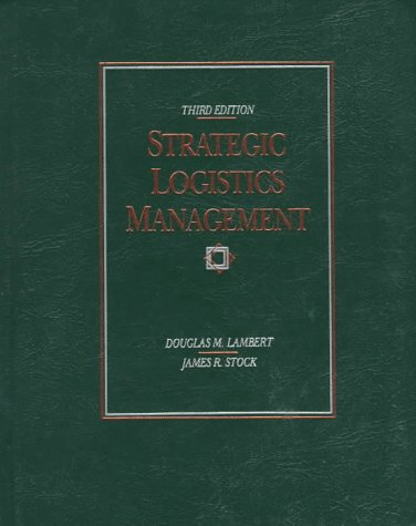 9780256088380: Strategic Logistics Management (Irwin Series in Marketing)