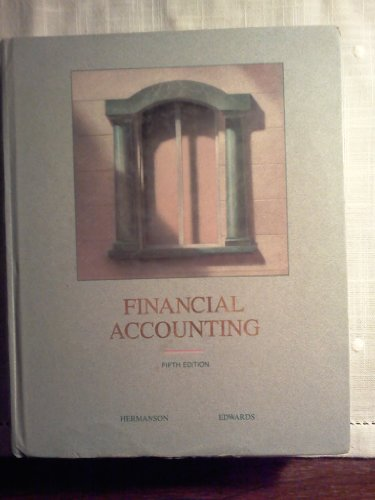 Financial Accounting: Roger H. Hermanson,