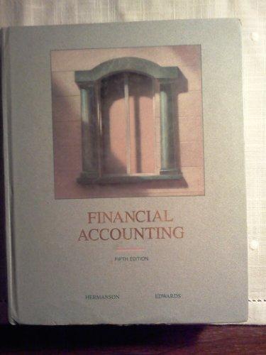 9780256089172: Financial Accounting