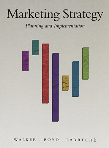 9780256090055: Marketing Strategy: Planning and Implementation (The Irein Series in Marketing)