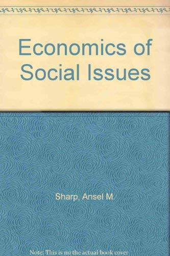 9780256090864: Economics of Social Issues