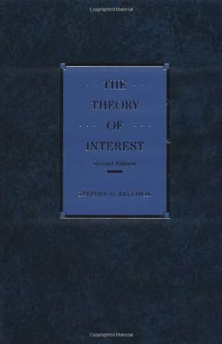 9780256091502: Theory of Interest
