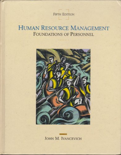 9780256091663: Human Resource Management: Foundations of Personnel