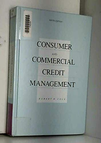 9780256091878: Consumer and Commercial Credit Management (The Irwin Series in Marketing)