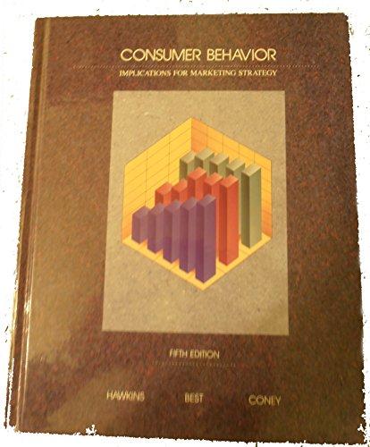 9780256094091: Consumer Behavior: Implications for Marketing Strategy