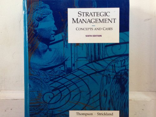 9780256096989: Strategic management: Concepts and cases