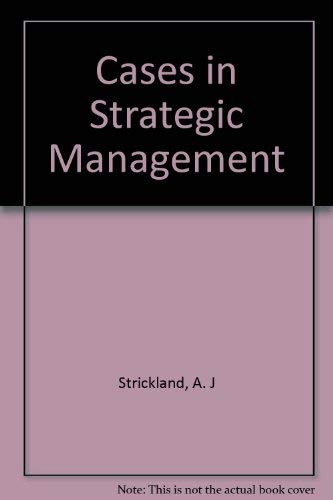 9780256097191: Cases in Strategic Management