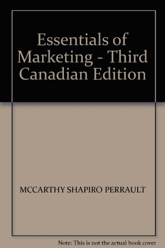 9780256097573: Essentials of Marketing - Third Canadian Edition