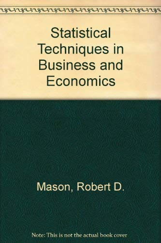 Statistical, Technical, Business, and Economic International: Mason