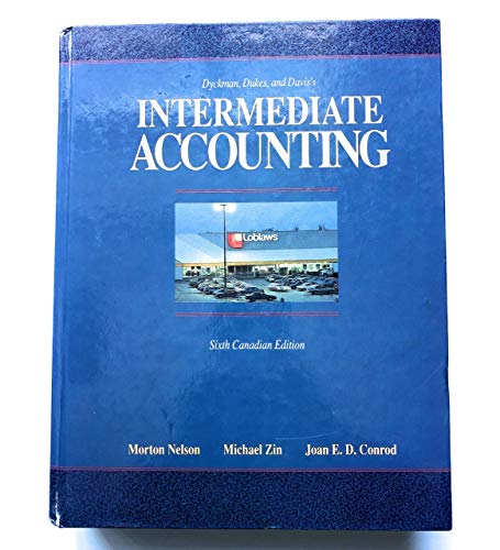 9780256099676: Intermediate accounting