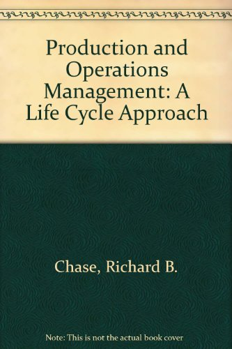 9780256100396: Production & Operations Management: A Life Cycle Approach