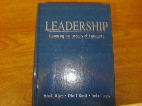 9780256102789: Leadership: Enhancing the Lessons of Experience