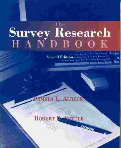 9780256103212: The Survey Research Handbook