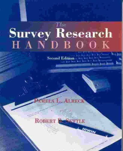 9780256103212: Survey Research Handbook (Paperback)