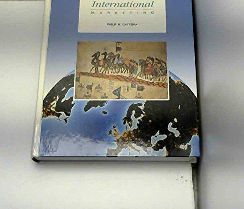 9780256105131: International Marketing (MCGRAW HILL/IRWIN SERIES IN MARKETING)