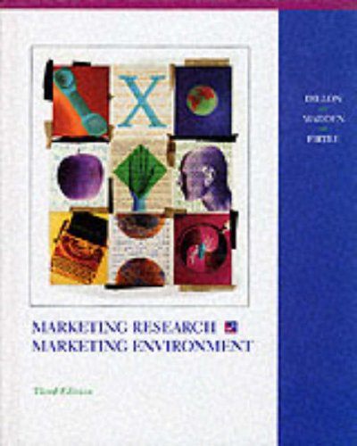 9780256105179: Marketing Research in a Marketing Environment (The Irwin Series in Marketing)