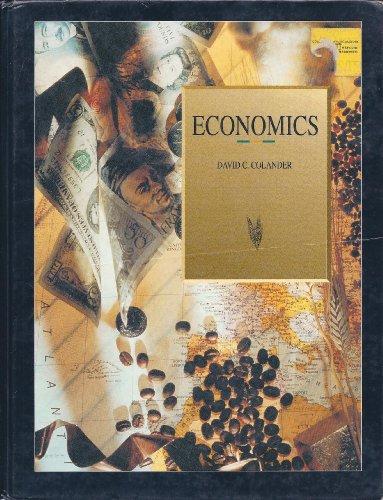 9780256107845: Economics