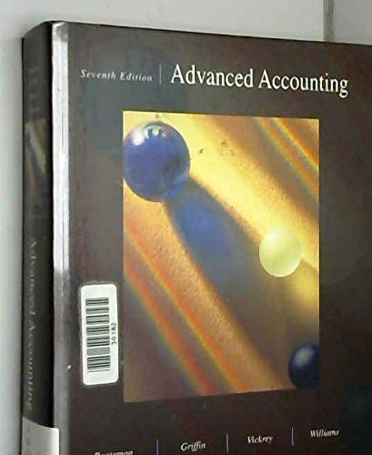 9780256108194: Advanced Accounting (The Irwin Series in Undergraduate Accounting)