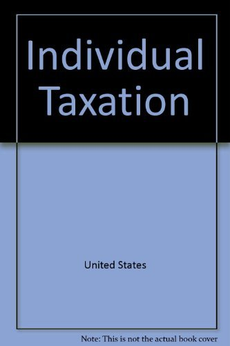 9780256109399: Individual taxation (Irwin taxation series)