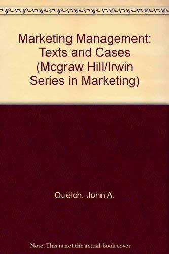 Marketing Management : Text and Cases: Robert J. Dolan;